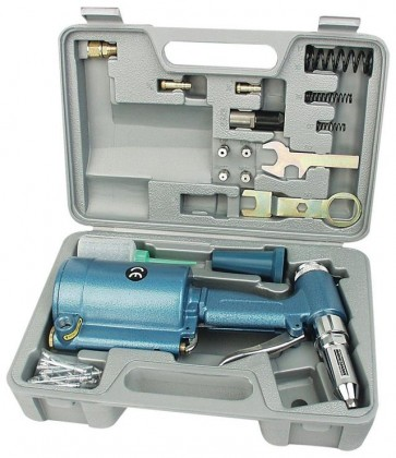 Professional Compressed Air Rivet Pop Gun Tool Pneumatic Air Pressure Riveter