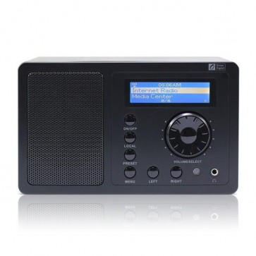Ocean Digital Internet Radio Tuner WR220 Wifi Wlan Receiver LCD Display Remote