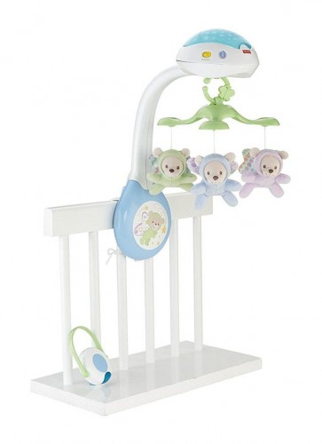 Fisher Price Mobile Butterfly Projection Baby Boy Girl Toy Crib Cot Music Gift