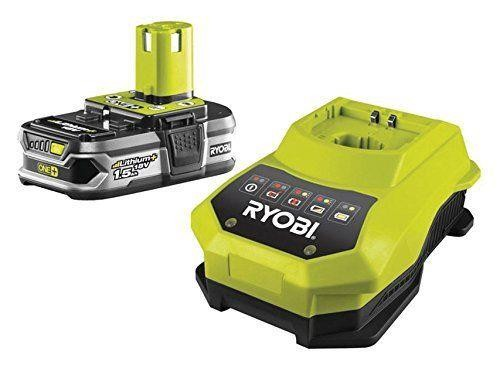 Ryobi One+ Plus RBC18L15 Lithium+ Battery 1 5 Ah and 18v 1 Hour Charger  Tool Kit