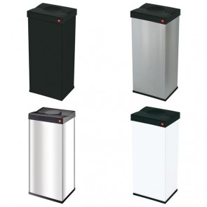 Large Kitchen Waste Bin Rectangle 60 Litre Self Closing Rubbish Swing Dustbin