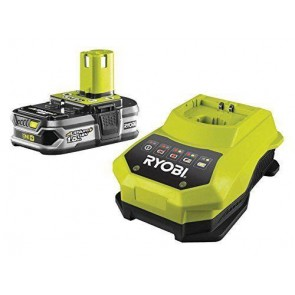 Ryobi One+ Plus RBC18L15 Lithium+ Battery 1.5 Ah and 18v 1 Hour Charger Tool Kit