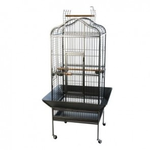 NOBLE PARROT CAGE 81x78x155cm Powder-Coated, Pet Bird House, Macaw Cockatoo