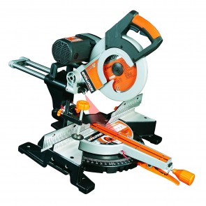 Evolution RAGE3-DB Multi Purpose SLIDING Mitre Saw Double Bevel 255mm 230V Tool